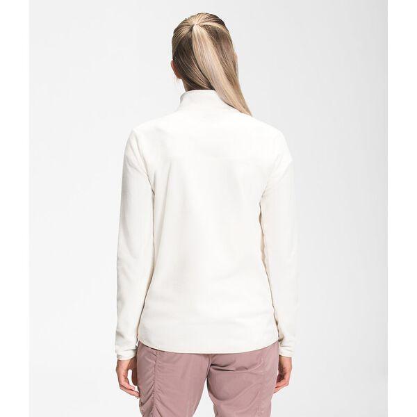 Women's TKA Glacier Fleece ¼ Zip, GARDENIA WHITE, hi-res
