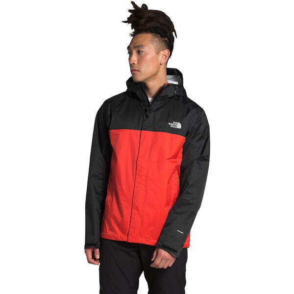 Men's Venture 2 Jacket, FLARE/TNF BLACK, hi-res