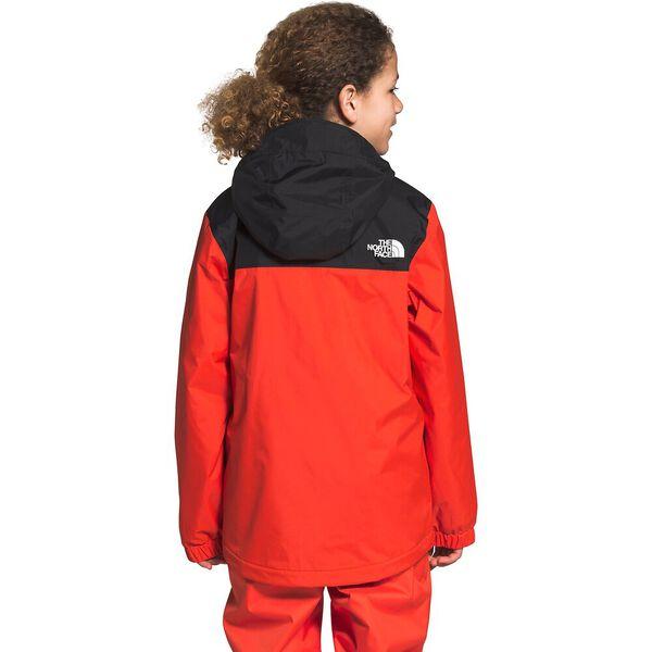 Boys' Warm Storm Rain Jacket, FLARE, hi-res