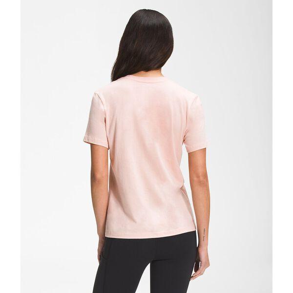 Women's Short-Sleeve Half Dome Cotton Tee, EVENING SAND PINK, hi-res
