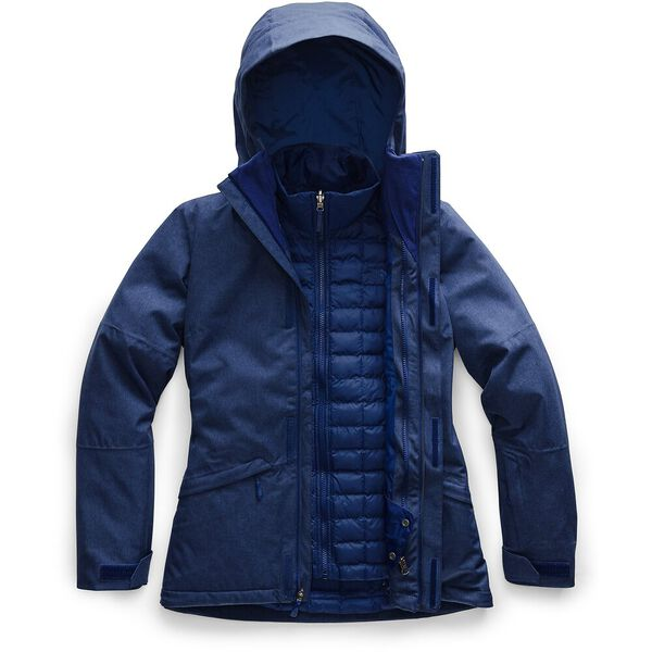WOMEN'S THERMOBALL ECO SNOW TRICLIMATE, FLAG BLUE HEATHER, hi-res