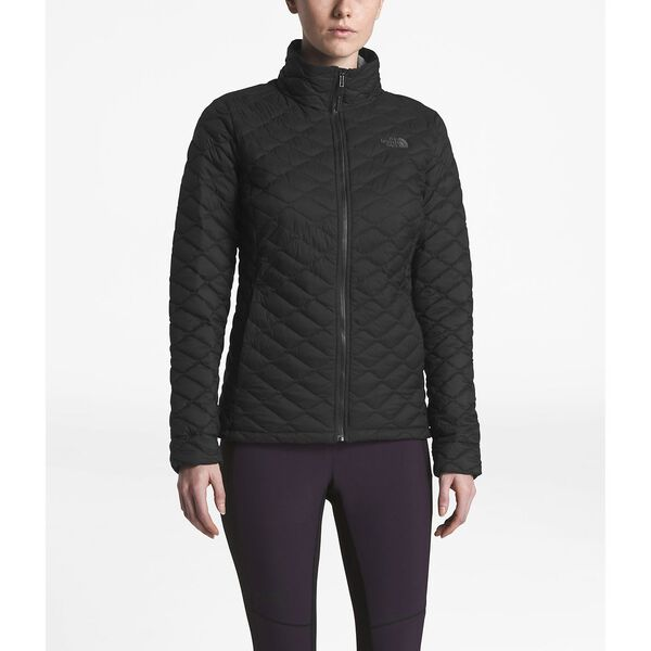 WOMEN'S THERMOBALL™ JACKET, TNF BLACK MATTE, hi-res