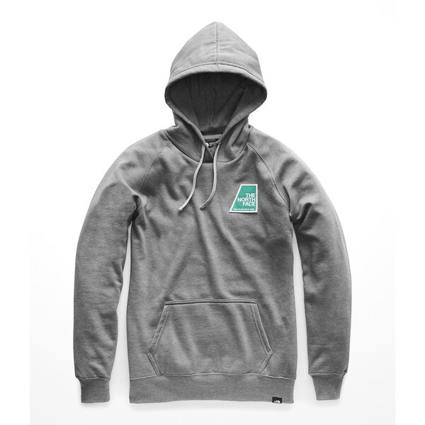 WOMEN'S PATCHES PULLOVER HOODIE