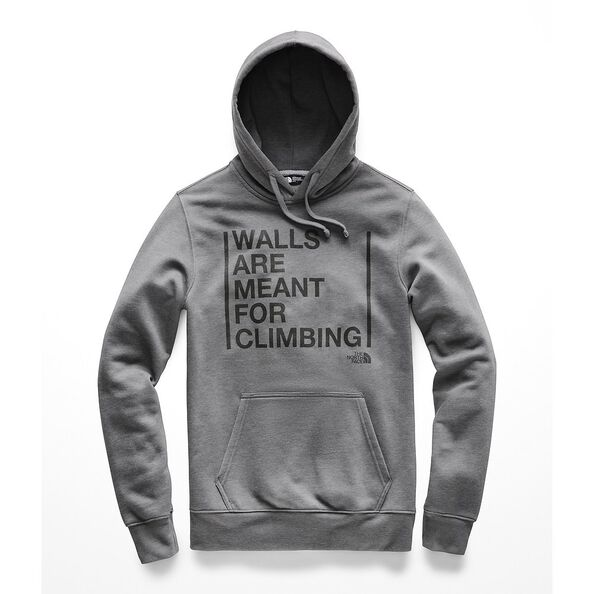 MEN'S MEANT TO BE CLIMB PULL OVER HOODIE, TNF MEDIUM GREY HEATHER, hi-res