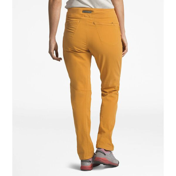 WOMEN'S NORTH DOME PANT, CITRINE YELLOW, hi-res