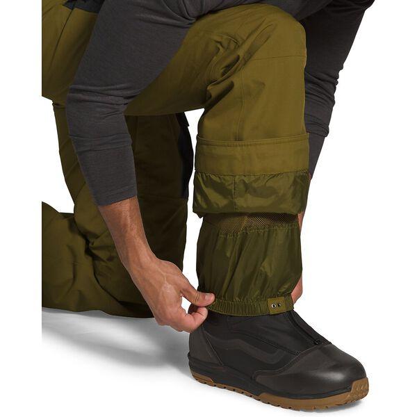 Men's Slashback Cargo Ski Pants, FIR GREEN/TNF BLACK, hi-res