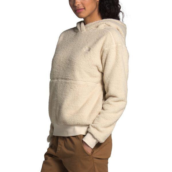 Women's Sherpa Fleece Pullover Hoodie, BLEACHED SAND, hi-res