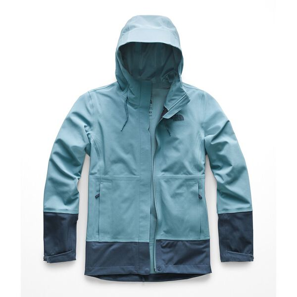 WOMEN'S APEX FLEX DRYVENT JACKET, STORM BLUE-BLUE WING TEAL, hi-res