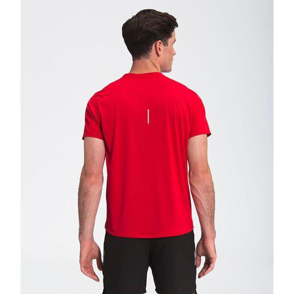 Men's True Run Short-Sleeve Shirt, TNF RED, hi-res