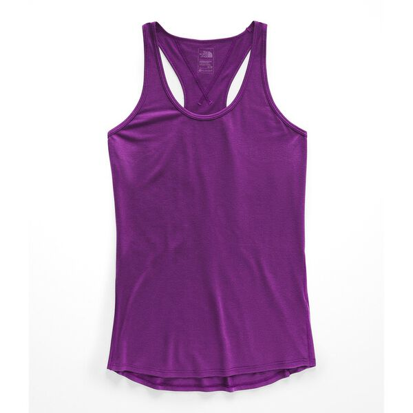 WOMEN'S WORKOUT RACERBACK, PHLOX PURPLE, hi-res