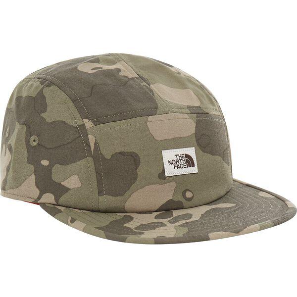 Marina Camp Hat, BURNT OLIVE GREEN PONDEROSA PINE PRINT, hi-res