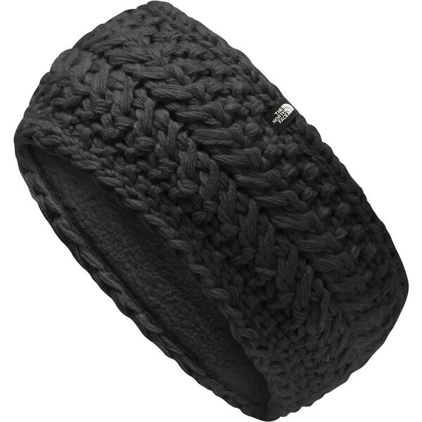 Cable Minna Earband, TNF BLACK, hi-res