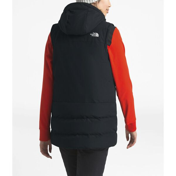 Women's Pallie Down Vest, TNF BLACK, hi-res