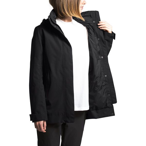 Women's Westoak City Trench, TNF BLACK, hi-res