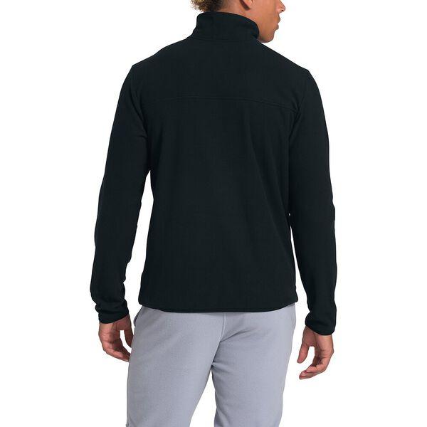 Men's TKA Glacier Snap-Neck Fleece, TNF BLACK/TNF BLACK, hi-res