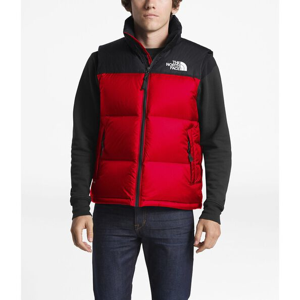 MEN'S 1996 RETRO NUPTSE VEST, TNF RED, hi-res