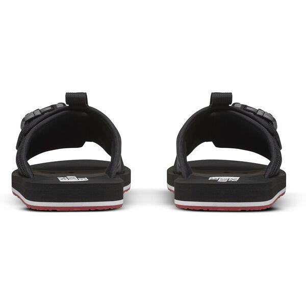 Men's EQBC Slide, TNF BLACK/FIERY RED, hi-res