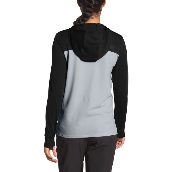 Women's North Dome Pullover Hoodie, TNF BLACK/MID GREY, hi-res