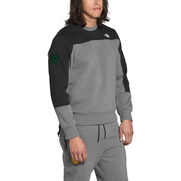 Men's Graphic Collection Pullover, TNF MEDIUM GREY HEATHER/TNF BLACK, hi-res