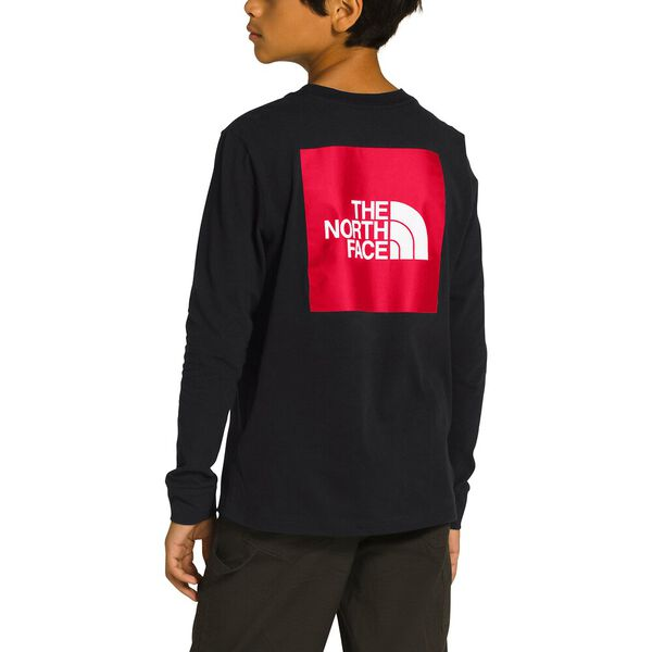 Youth Long-Sleeve Graphic Tee, TNF BLACK, hi-res