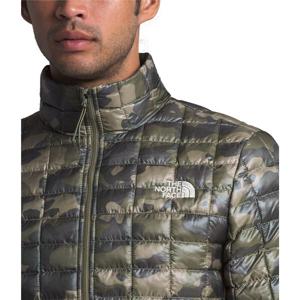 Men's Thermoball™ Eco Jacket, BURNT OLIVE GREEN PONDEROSA PRINT, hi-res