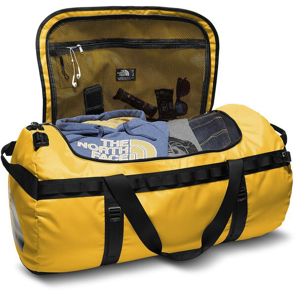 BASE CAMP DUFFEL - XL, SUMMIT GOLD/TNF BLACK, hi-res