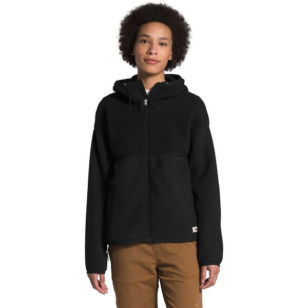 Women's Cragmont Fleece Full Zip Hoodie, TNF BLACK, hi-res