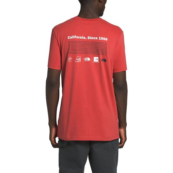 Men's Short-Sleeve Logo-Lution Tee, SUNBAKED RED, hi-res