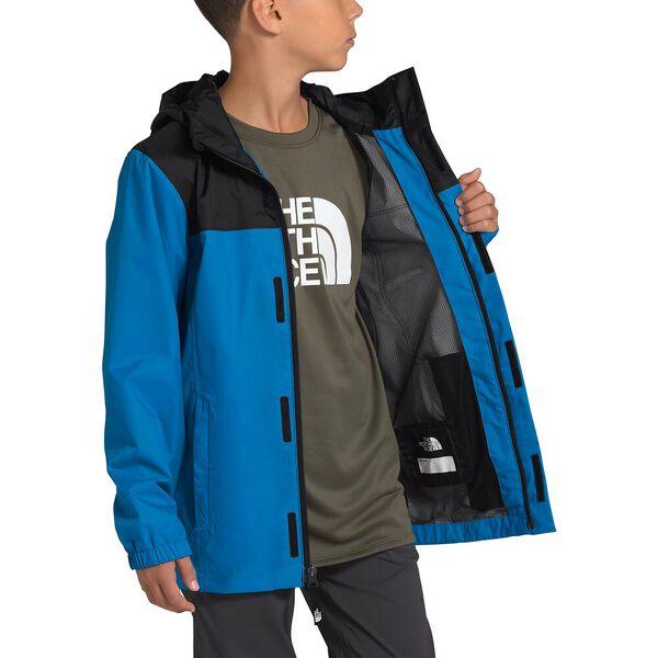 Boys' Resolve Reflective Jacket, CLEAR LAKE BLUE, hi-res