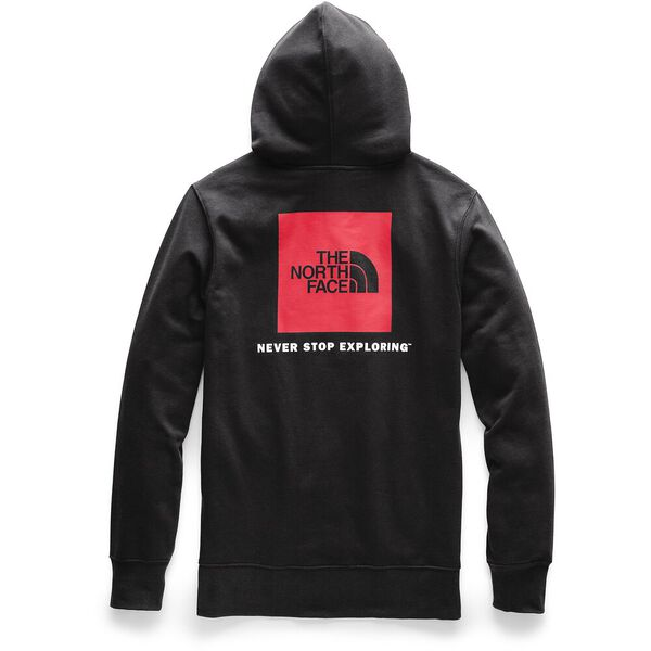MEN'S RED BOX PULLOVER HOODIE, TNF BLACK/TNF RED, hi-res
