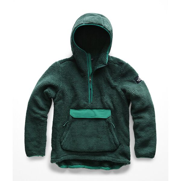 WOMEN'S CAMPSHIRE PULLOVER HOODIE, DEEP TEAL BLUE-EVERGLADE, hi-res