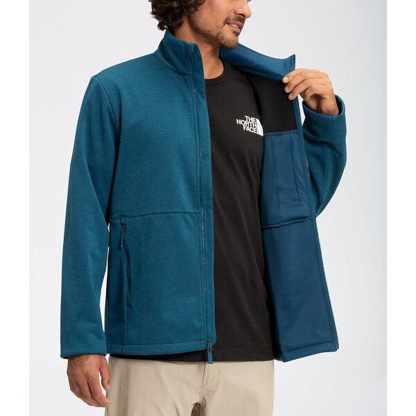 Men's Apex Canyonwall Eco Jacket, MONTEREY BLUE DARK HEATHER, hi-res
