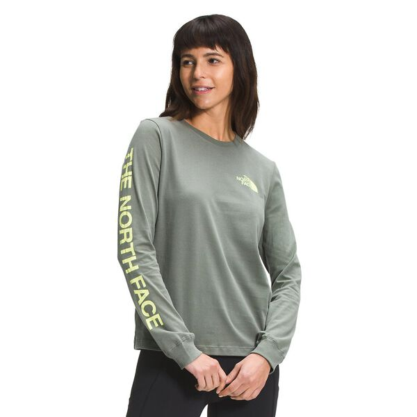 Women's Simple Logo Long-Sleeve Tee