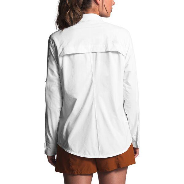 Women's Outdoor Trail Long-Sleeve Shirt, TNF WHITE, hi-res
