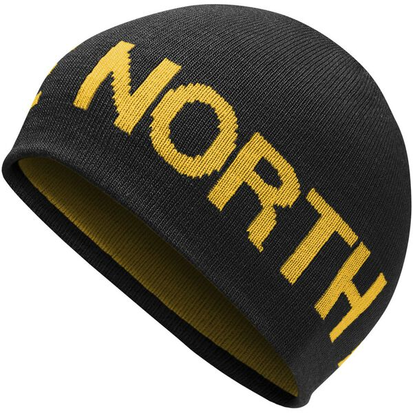 REVERSIBLE TNF™ BANNER BEANIE, TNF BLACK/TNF YELLOW, hi-res