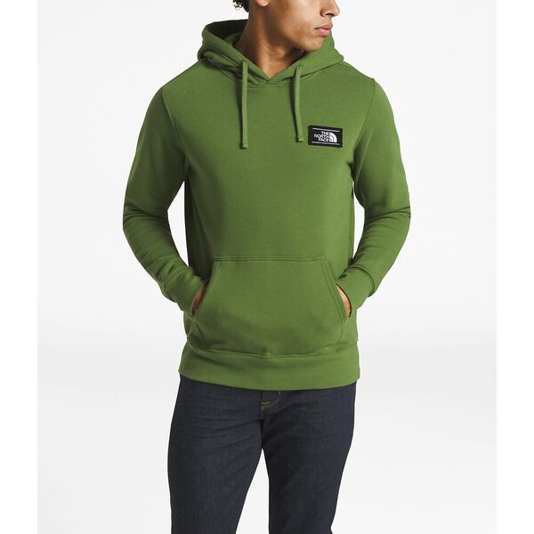 MEN'S BOTTLE SOURCE PULLOVER HOODIE, GARDEN GREEN, hi-res