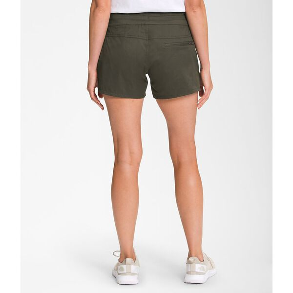 Women's Aphrodite Motion Shorts, NEW TAUPE GREEN, hi-res