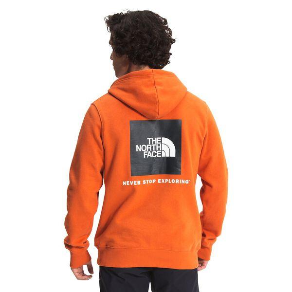 Men's Box NSE Pullover Hoodie, BURNT OCHRE, hi-res