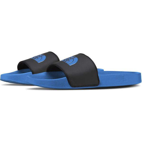 Men's Base Camp Slide II, TNF BLACK/CLEAR LAKE BLUE, hi-res