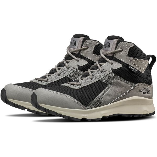 JR HEDGEHOG II MID WP, SILT GREY/TNF BLACK, hi-res