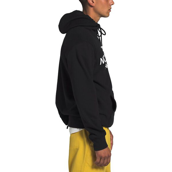 Men's Half Dome Pullover Hoodie, TNF BLACK, hi-res