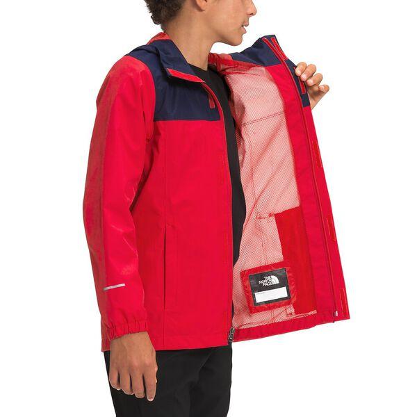 Boys' Resolve Reflective Jacket, TNF RED, hi-res