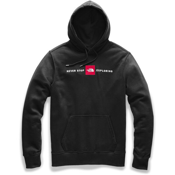 MEN'S RED'S PULLOVER HOODIE, TNF BLACK, hi-res