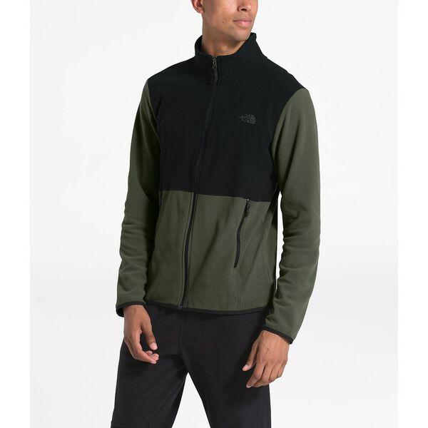Men's TKA Glacier Full Zip Jacket, NEW TAUPE GREEN/TNF BLACK, hi-res