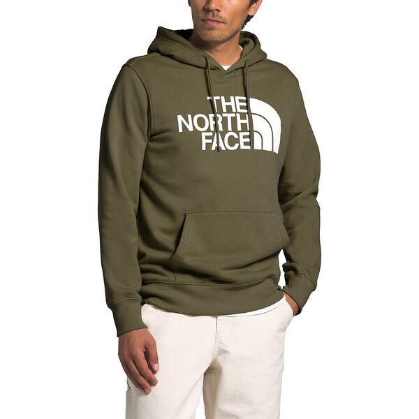 Men's Half Dome Pullover Hoodie, BURNT OLIVE GREEN, hi-res