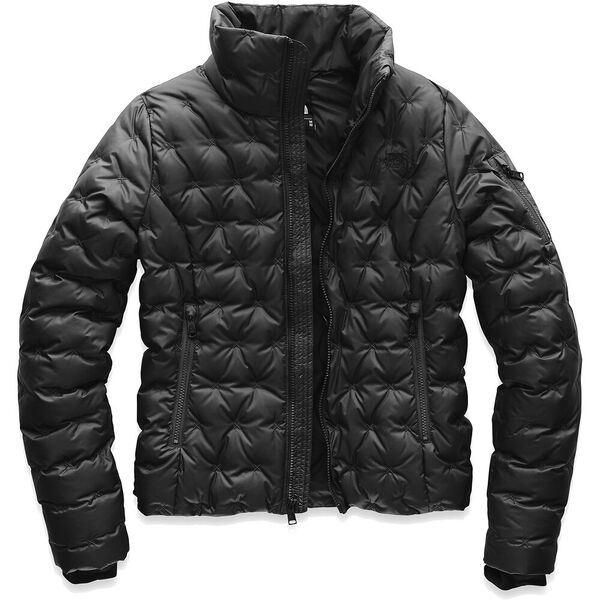 Women's Holladown Crop Jacket, TNF BLACK, hi-res