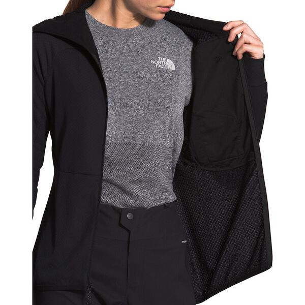 Women's Summit L2 Hoodie, TNF BLACK, hi-res