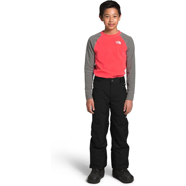 Boys' Freedom Insulated Pants, TNF BLACK/TNF WHITE, hi-res