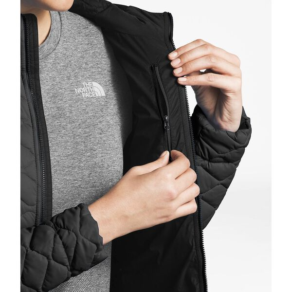 WOMEN'S THERMOBALL™ HOODIE, TNF BLACK MATTE, hi-res