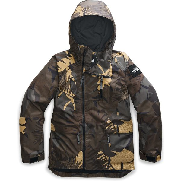 Women's Superlu Jacket, NEW TAUPE GREEN PALMS PRINT, hi-res